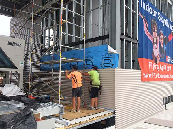Quikdeck Roofing Services Current Major Projects Project - iFLY Downunder, Penrith Panthers - ../../dc/gallery/lrg/1486361206_IMG_0483.jpg