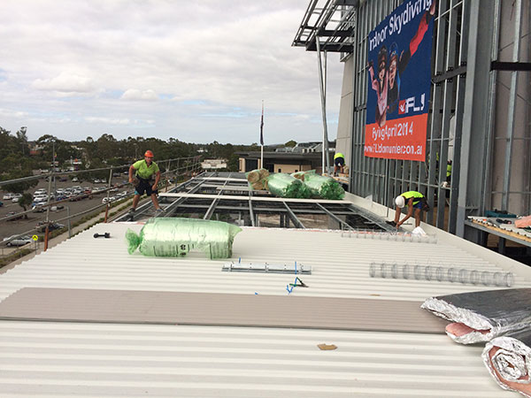 Quikdeck Roofing Services Current Major Projects Project - iFLY Downunder, Penrith Panthers - ../../dc/gallery/lrg/1486361406_IMG_0456.jpg