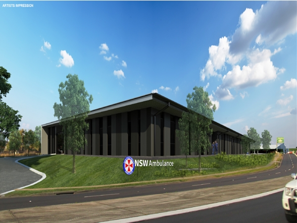 Quikdeck Roofing Services Government Project - NSW Ambulance, Penrith NSW - ../../dc/gallery/lrg/1511750005_artists impression - use.png