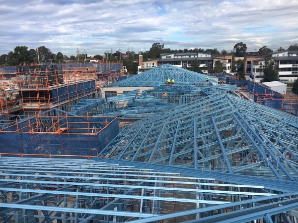 Quikdeck Roofing Services Current Major Projects Project - Allity Aged Care, Pemulwuy NSW - ../../dc/gallery/lrg/1511777888_Allity 4.JPG