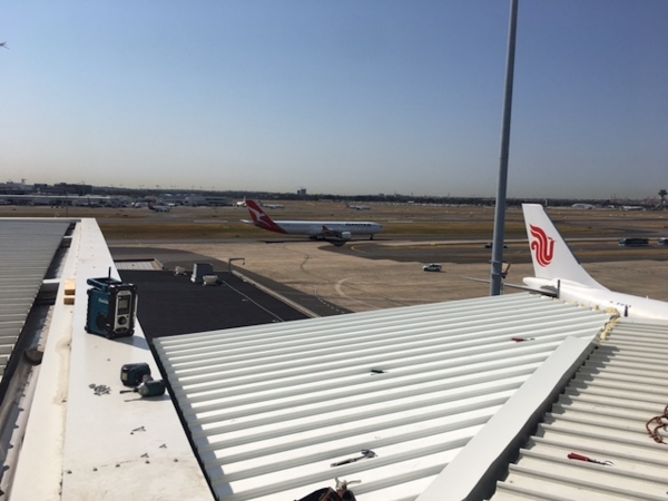 Quikdeck Roofing Services Commercial and Industrial Project - McDonalds – Sydney International Airport - ../../dc/gallery/lrg/1511778232_McDonalds -T1 2.JPG