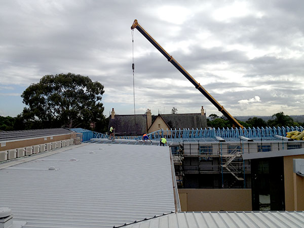 Quikdeck Roofing Services Current Major Projects Project - Cabrini Aged Care Facility, Westmead - ../../dc/gallery/lrg/2Cabrini.jpg