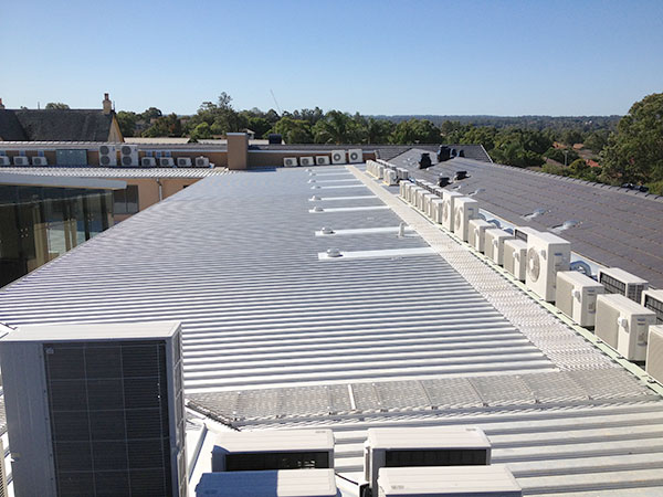 Quikdeck Roofing Services Current Major Projects Project - Cabrini Aged Care Facility, Westmead - ../../dc/gallery/lrg/4Cabrini.jpg