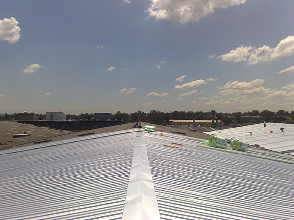 Quikdeck Roofing Services Factories and Warehouses Project - Speedibake Bakery, Ermington and McPhee Transport, Chester Hill - ../../dc/gallery/lrg/5.jpg