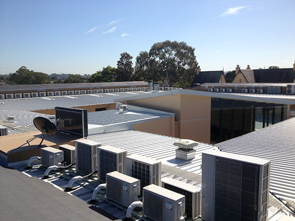 Quikdeck Roofing Services Current Major Projects Project - Cabrini Aged Care Facility, Westmead - ../../dc/gallery/lrg/5Cabrini.jpg