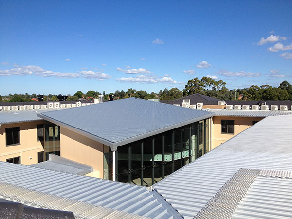 Quikdeck Roofing Services Current Major Projects Project - Cabrini Aged Care Facility, Westmead - ../../dc/gallery/lrg/6Cabrini.jpg