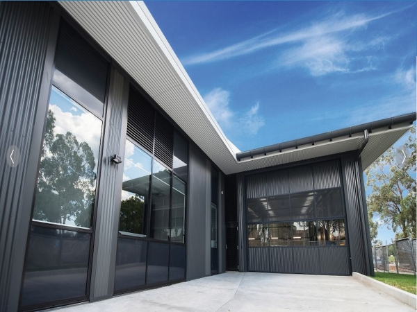 Quikdeck Metal Roofing Services Current Major Projects Project - NSW Ambulance, Northmead NSW - Project Size: 5,000 m2