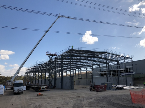 Quikdeck Metal Roofing Services Commercial and Industrial Project - Wetherill Park Resource Co, Wetherill Park NSW - Project Size: 13,500 m2