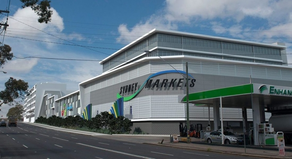 Quikdeck Metal Roofing Contractor Services All Projects Project - Sydney Markets Warehouse