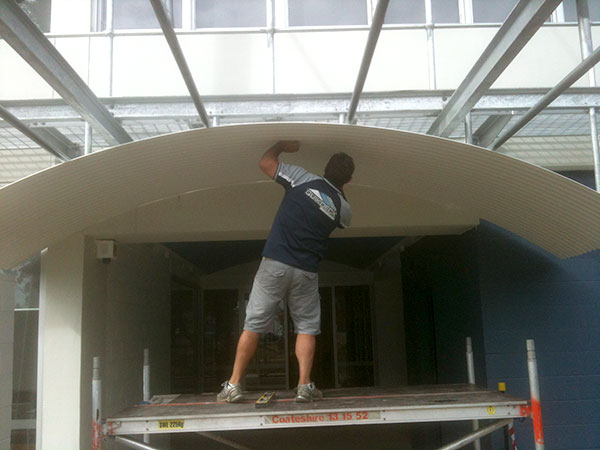Quikdeck Metal Roofing Contractor Services Schools and Colleges Project - Mater Dei Catholic College, Camden