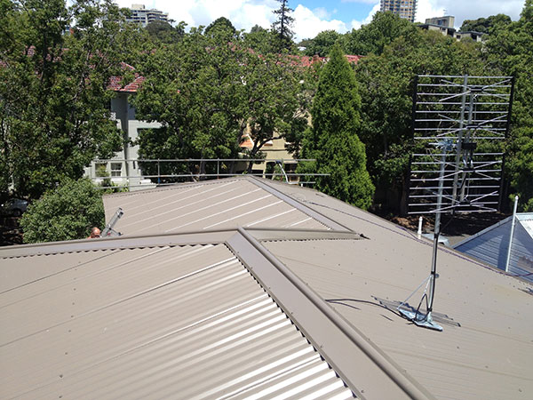 Quikdeck Metal Roofing Contractor Services Residential Project - Private Residence, 23 South St, Double Bay