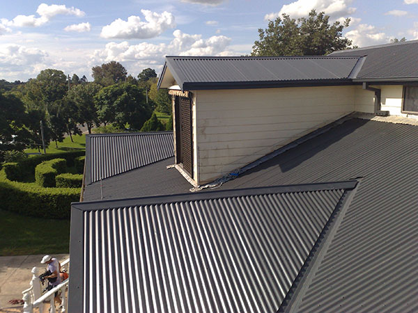 Quikdeck Metal Roofing Contractor Services Residential Project - Private Residence, 106 Nepean Ave, Penrith