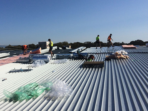 Quikdeck Metal Roofing Contractor Services Government Project - State Geoscience Centre, Londonderry