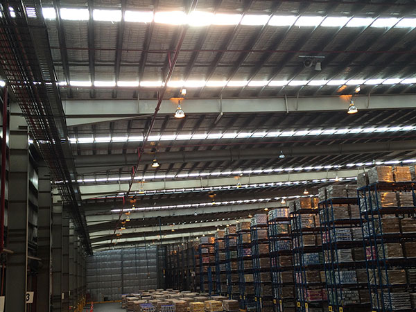 Quikdeck Metal Roofing Contractor Services Factories and Warehouses Project - Toll Warehouse Skylight Replacement, Ingleburn