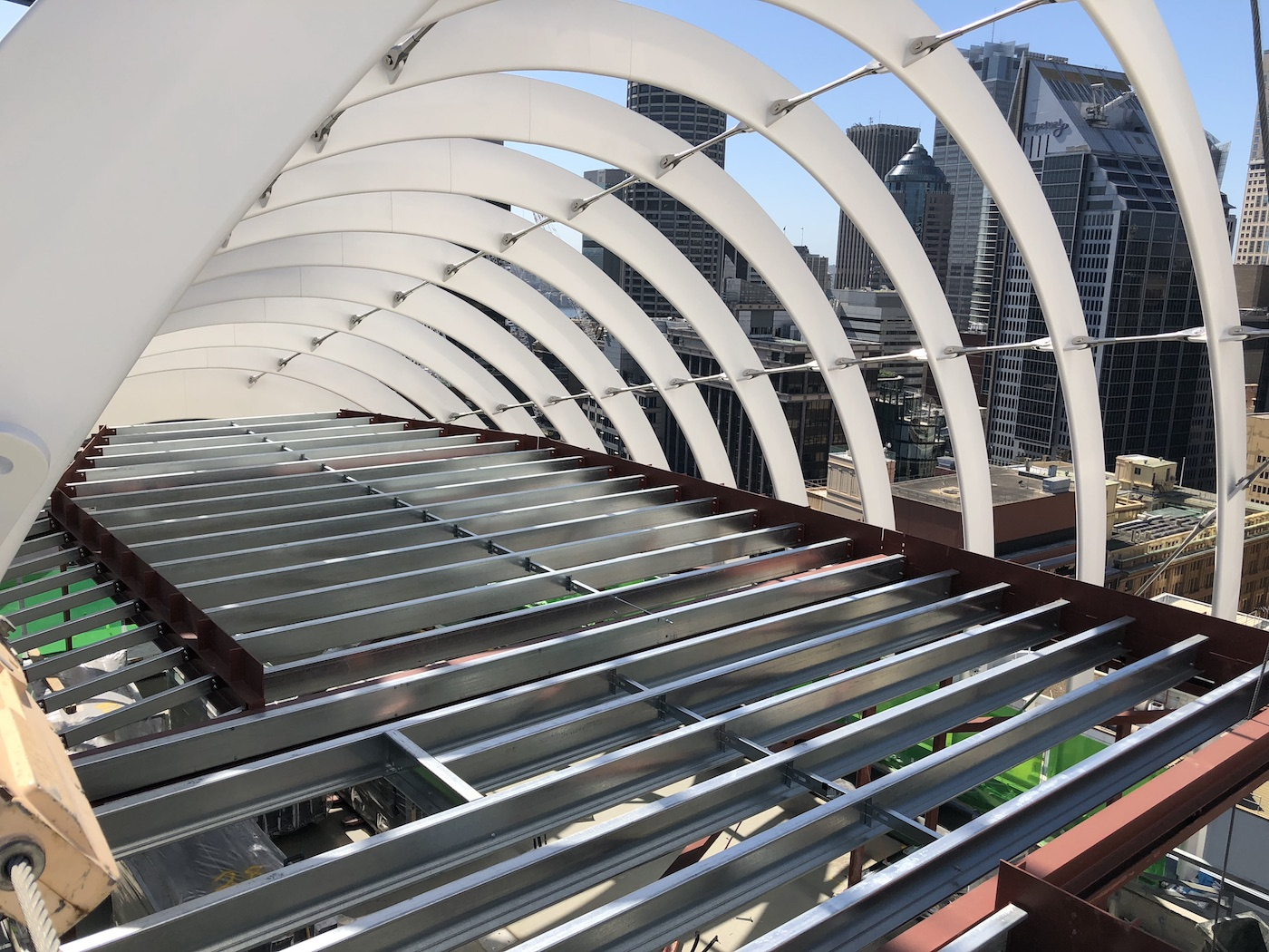 Arc By Crown Sydney City Quikdeck Metal Roofing Services