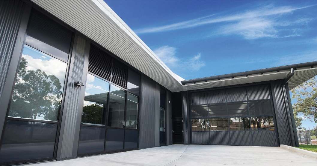 Quikdeck supplied metal roofing services for the Northmead Superstation, comprising 4,000 sq/m of metal roofing and architectural walling