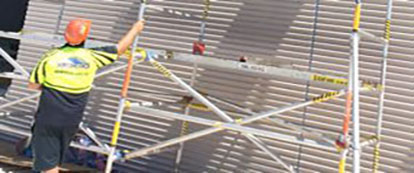 We supply and install all profiles of metal roofing and cladding.