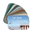 Quikdeck Roofing Services use the Residential Roofing colour range of Colorbond sheeting