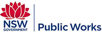 NSW Government Public Works logo