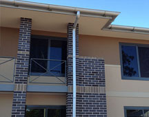 Aged Care Facility new metal roofs, wall cladding and guttering systems.