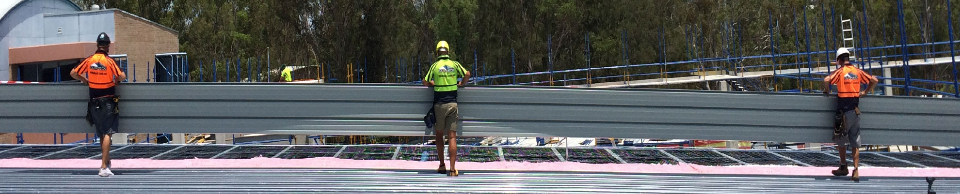 Penrith Sydney based Quikdeck Roofing Contractors offer comprehensive industrial and commercial roofing & cladding services.