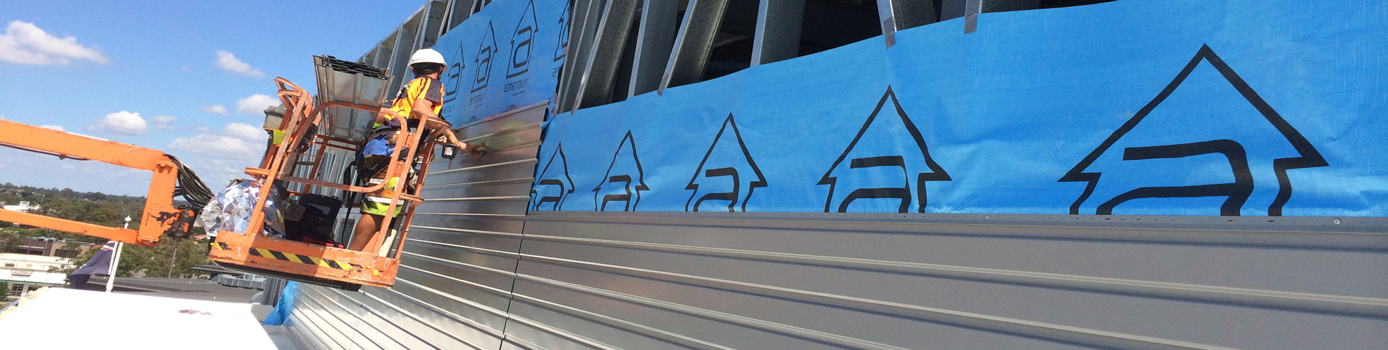 Working in close connection with the building and design team, Quikdeck roofing contractor delivered a superior project ahead of schedule, finished with stainless steel gutters and half round downpipes and customized precision cappings and flashings to compliment the distinctive and dynamic design features of the facility.
