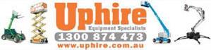 Uphire, Access Equipment Sydney - Quikdeck Metal Roofing Services Partner - Uphire has an experienced team of qualified personnel who manage the hire, sales, service, operating, training and transportation of cherry pickers, scissor lifts, knuckle booms, spider lifts, vertical lifts, telehandlers, scaffolds, portable equipment, and forklifts.